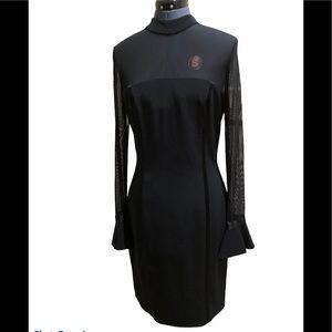 Vintage Oleg Cassini Black Tie dress